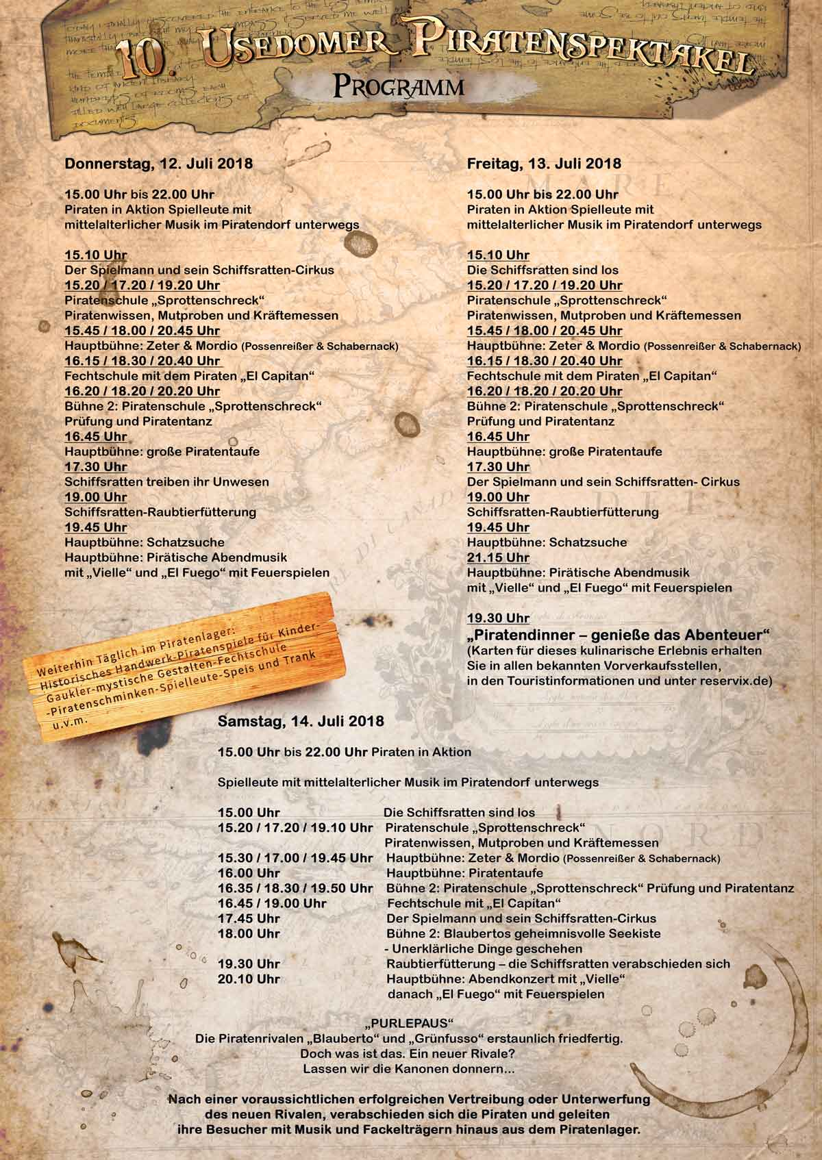 Piraten Programm 2018